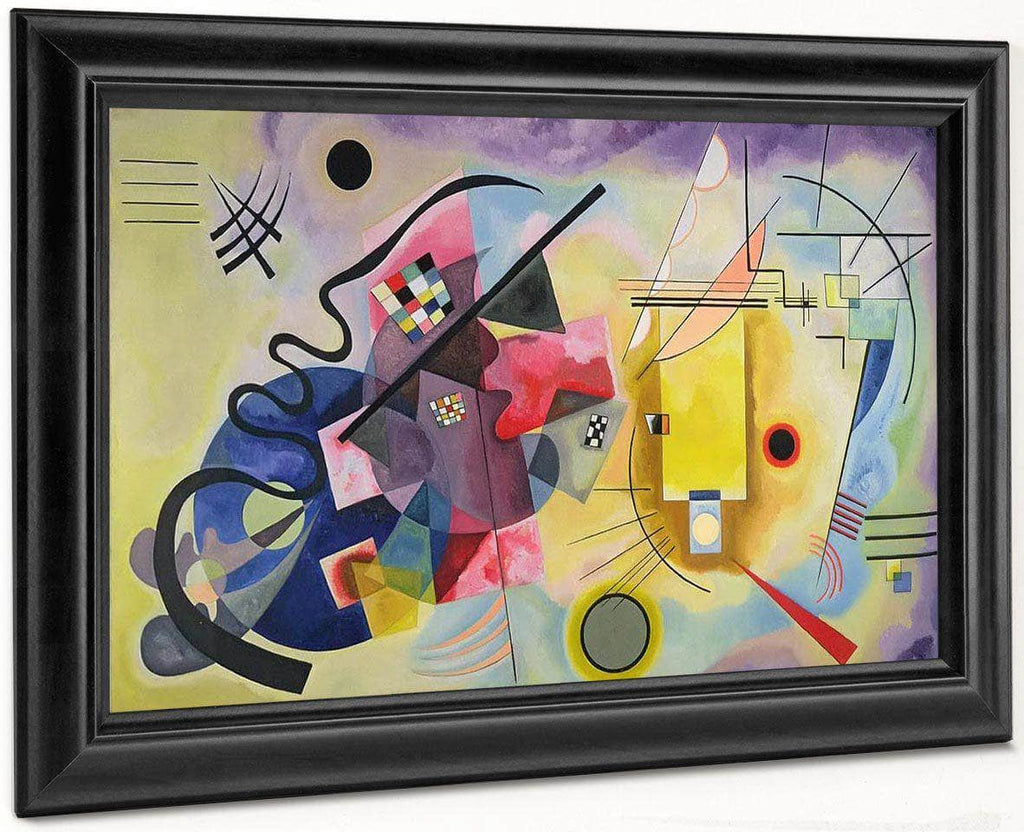 Yellow Red Blue1925 By Wassily Kandinsky