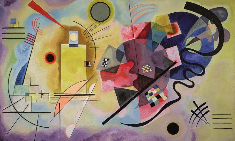 Yellow Red Blue By Wassily Kandinsky