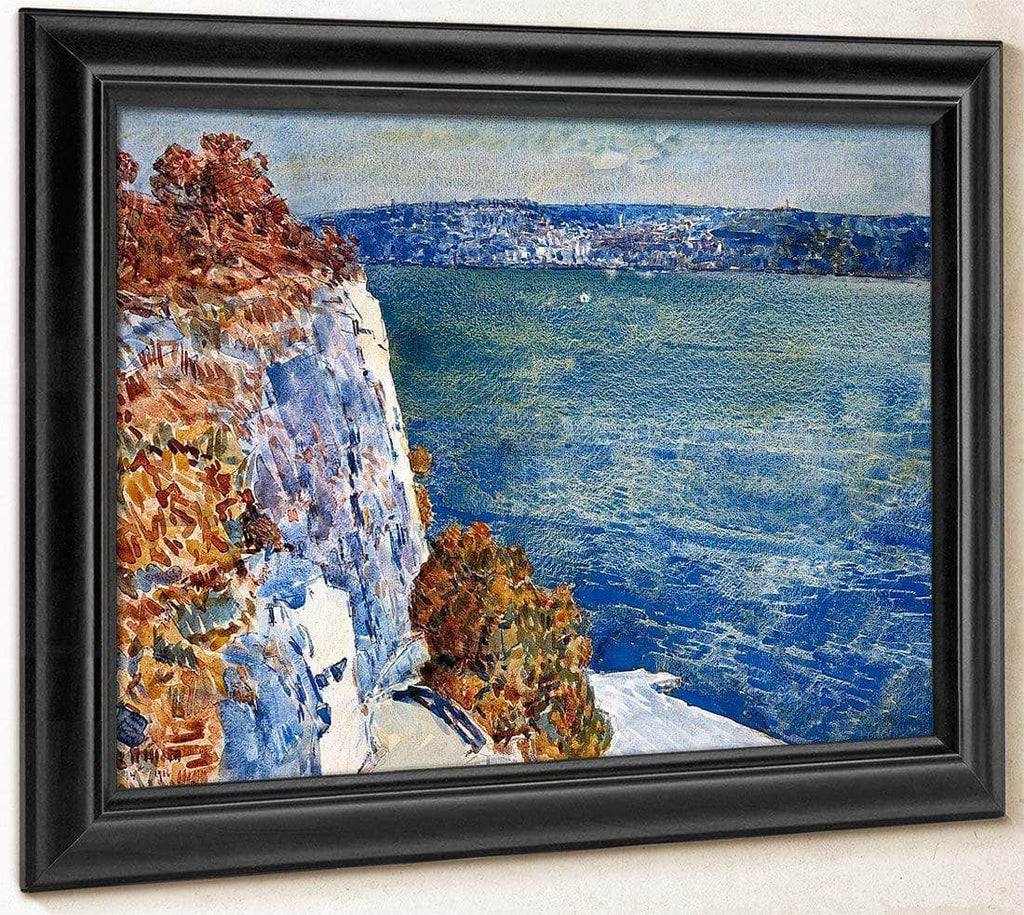 Yonkers From The Palisades By Childe Hassam