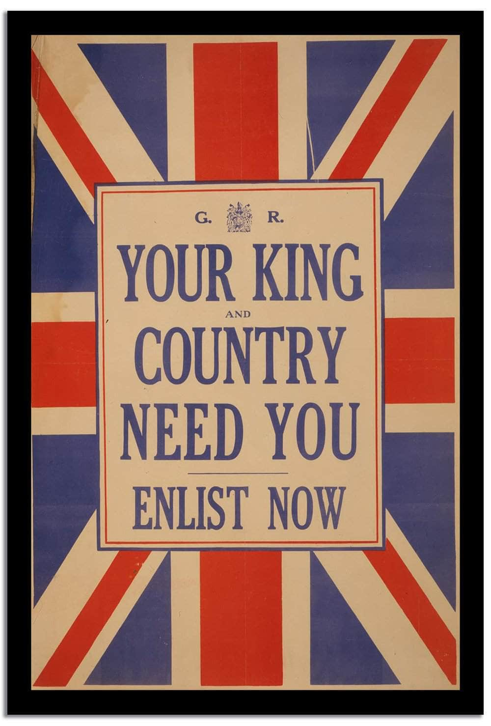 You Iking Country Need You  Vintage Poster