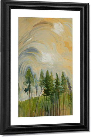 Young Pines By And By Sky By 1935 By Emily Carr