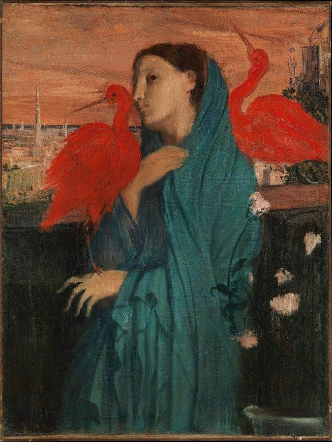 Young Woman Ibis Degas