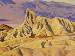 Zabreskie Point By Maynard Dixon