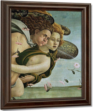 Zephyr And Chloris Detail From The Birth Of Venus By Sandro Botticelli