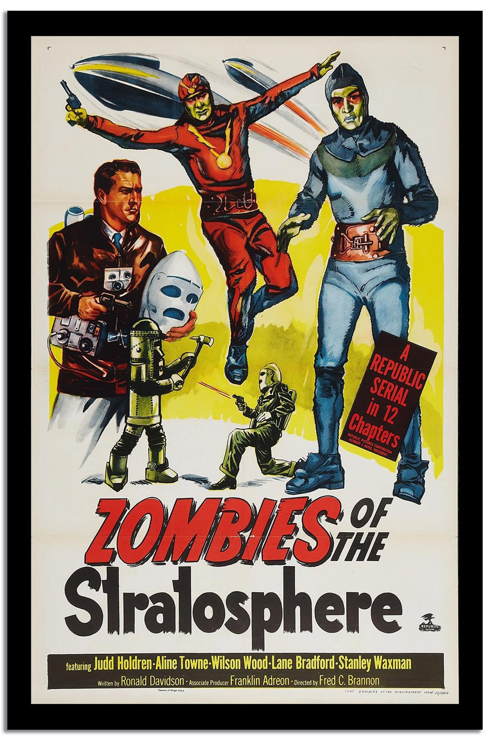 Zombies  Vintage Poster