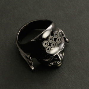 Brass Semi-Orders Samurai Ring (14-2365B)