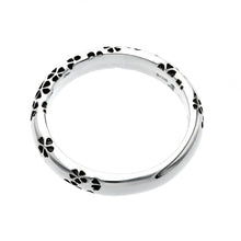 Load image into Gallery viewer, Silver Sakura Pattern Ring (14-2468)