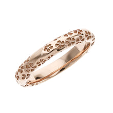 Load image into Gallery viewer, Silver Sakura Pattern Ring (14-2477)