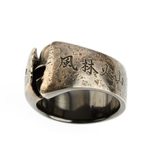 Load image into Gallery viewer, BRASS HIDDEN SAMURAI RING(14-2364B)-Ring-Samurai-Jewels Japan