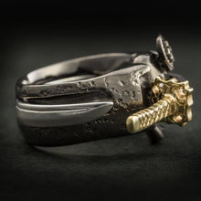 "Samurai and the Sword Ring (14-2371)    <p><strong><span style=""color: #ff0000;"">FREE SHIPPING</span></strong></p>"