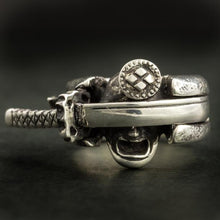 Load image into Gallery viewer, Samurai and the Sword Ring(14-2370)-Ring-Samurai-Jewels Japan