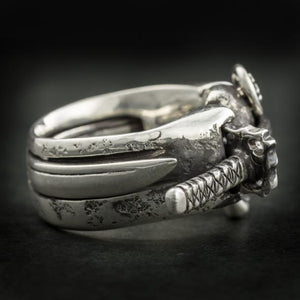 "Samurai and the Sword Ring(14-2370)    <p><strong><span style=""color: #ff0000;"">FREE SHIPPING</span></strong></p>"