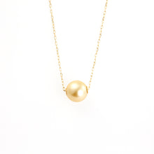 Load image into Gallery viewer, 18 Karat Gold Golden Pearl of Japan Sea Necklace (67-8591)-Necklace-Jewels Japan