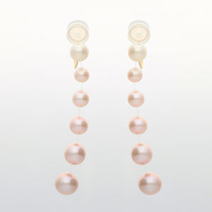 18 Karat Gold/Fresh Water Pearl Clip-on Earrings (46-4890)