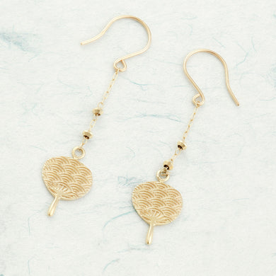 10 Karat Gold Earring (46-7912)-Earring-Jewels Japan
