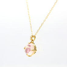 Load image into Gallery viewer, 18 Karat Gold/Color Stone Necklace (60-8613)