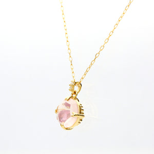 18 Karat Gold/Color Stone Necklace (60-8613)