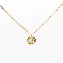 Load image into Gallery viewer, 18 Karat Gold/Diamond Sakura Necklace (66-2605)