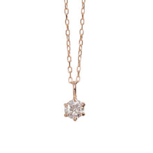 Load image into Gallery viewer, 10 Karat Gold Birthstone Necklace-Necklace-Jewels Japan