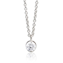 Load image into Gallery viewer, SV925 Swarovski Zirconia Necklace (95-1042)-Necklace-Jewels Japan