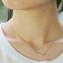 Load image into Gallery viewer, SV925 Swarovski Zirconia Necklace (95-1046)-Necklace-Jewels Japan
