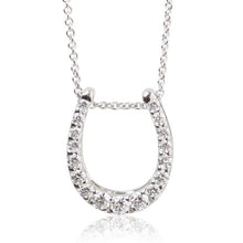Load image into Gallery viewer, SV925 Swarovski Zirconia Necklace (95-1049)-Necklace-Jewels Japan