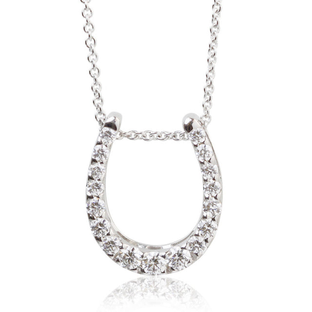 SV925 Swarovski Zirconia Necklace (95-1049)-Necklace-Jewels Japan