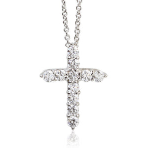 SV925 Swarovski Zirconia Necklace (95-1050)-Necklace-Jewels Japan