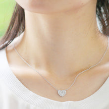 Load image into Gallery viewer, SV925 Swarovski Zirconia Necklace (95-1051)-Necklace-Jewels Japan