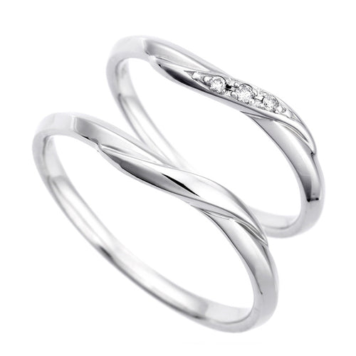 Pair rings | Couple sets 95-1154-1155-Ring-Jewels Japan