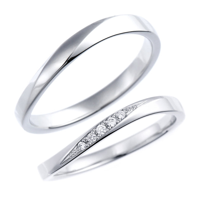 Pair rings | Couple sets 95-1156-1157-Ring-Jewels Japan