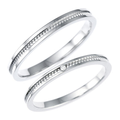 Pair rings | Couple sets 95-1158-1159-Ring-Jewels Japan