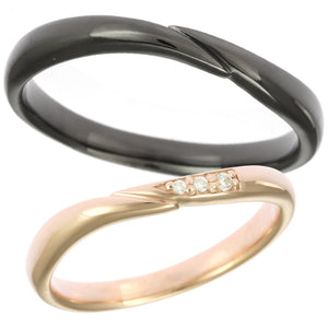 Pair rings | Couple sets 95-2124-2125-Ring-Jewels Japan