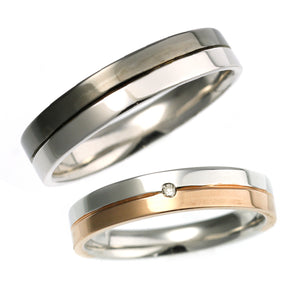Pair rings | Couple sets 95-2142-2143-Ring-Jewels Japan