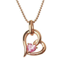 Load image into Gallery viewer, SV925 Heart Necklace (95-2338)-Necklace-Jewels Japan