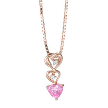 Load image into Gallery viewer, SV925 Heart Necklace (95-2341)-Necklace-Jewels Japan