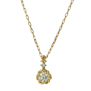18 Karat Gold Diamond Necklace (96-1012)-Necklace-Jewels Japan