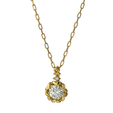 18 Karat Gold Diamond Necklace (96-1013)-Necklace-Jewels Japan