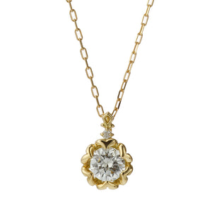 18 Karat Gold Diamond Necklace (96-1014)-Necklace-Jewels Japan
