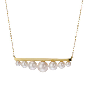 18 Karat Akoya Pearl Necklace (96-1060)