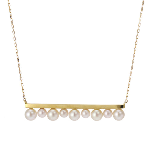 18 Karat Akoya Pearl Necklace (96-1062)
