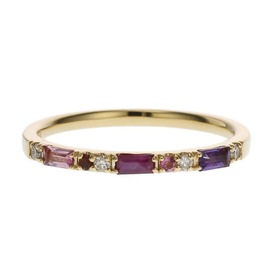 18 Karat Gold Color stone Ring (96-2096)-Ring-Jewels Japan