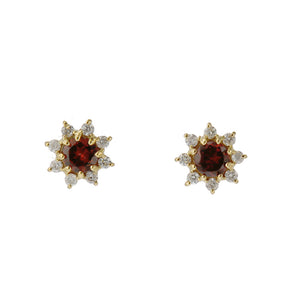 18 Karat Diamond Birthstone Earring (96-3040-3051)