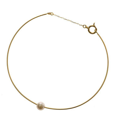 18 Karat Gold Akoya Pearl Bracelet 96-4028-Bracelet-Jewels Japan