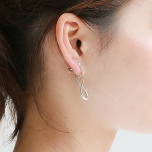 Silver925 Clip-on Earrings (96-8003)