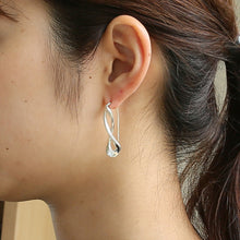 Load image into Gallery viewer, Silver925 Earring (96-8011)-Earring-Jewels Japan
