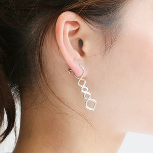 Silver925 clip-on earrings (96-8012)