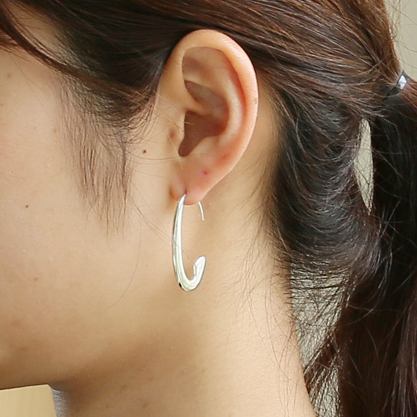 Silver925 Earring (96-8013)-Earring-Jewels Japan