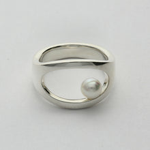 Load image into Gallery viewer, Silver925 Akoya Pearl Ring (96-8018)-Ring-Jewels Japan