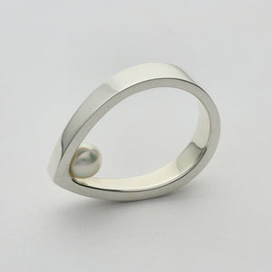 Silver925 Akoya Pearl Ring (96-8019)-Ring-Jewels Japan